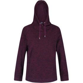 Regatta Kizmit II Fleece Hoodie Dames, dark burgundy